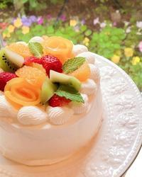 フルーツショートケーキ - 調布の小さな手作りお菓子教室 アトリエタルトタタン