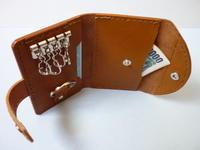 多機能キーケース・・・カード類.....収納 - 革小物 paddy の作品