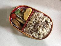 サンマの干物 - 庶民のショボい弁当