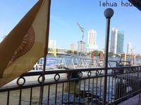 バンコクの水上バス    ベトナム→カンボジア→タイ 南部横断の旅2017.1 - Hawaiian LomiLomi サロン  華(レフア)邸