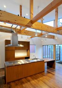グルリと廻れるアイランドキッチン! - 島田博一建築設計室のWEEKLY  PHOTO / 栃木県 建築設計事務所