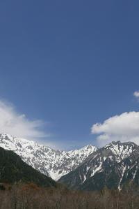 上高地で出会った雲 - mypotteaセンチメンタルな日々with photos5