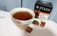 STASHのデカフェ・チョコレートヘーゼルナッツティー, Decaf Chocolate Hazelnut tea - latina diary blog
