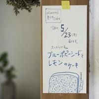 ブルーポピーシードとレモンのケーキ - ダイドコ帖