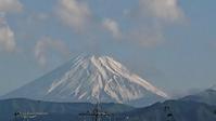 5月16日、我が家の駐車場から見た富士山です - 難病あっても、楽しく元気に暮らします(心満たされる生活)