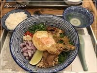 『mango tree kitchen kao man gai(マンゴツリーキッチン カオマンガイ)』で絶品まぜそばを頂く!!@大阪/梅田 - Bon appetit!