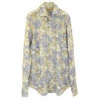 Matteucci マテウッチ シームレスフラワープリントシャツ - 下町の洋服店 krunchの日記