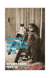 French Vintage Military Trousers Fair!!!!!  Start From 5/18〜 - DIGUPPER BLOG