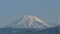 5月17日、我が家の駐車場から見た富士山です - 難病あっても、楽しく元気に暮らします(心満たされる生活)