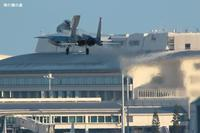 着陸するのかしないのかF-15航空自衛隊 - 飛行機の虜