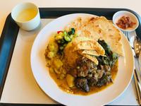カフェといろいろ びより メニュー - スリランカ  カレー& オーダーメイドコサージュ・バック Rosamala