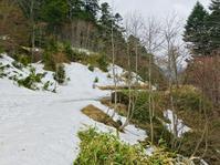 峠のCAFE ADAMO 大河原峠まで未だ積雪の為通行出来ず。 - 山谷彷徨