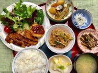 豚カツ&玉葱★(^^♪・・・・・700円ランチ - 日だまりカフェ