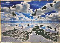 ウユニ塩湖-ボリビア:8日目 - ジグソーパズル(世界最小ピース)