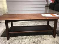 ローテーブル試作01 - 木工家具製作所「玉造工房」ぶらぶら