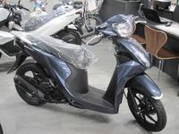 マイナーチェンジのDIO110 - バイクの横輪