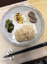 さつまいもの塩きんぴら - 庶民のショボい食卓