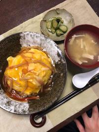 天津飯のようなもの - 庶民のショボい食卓
