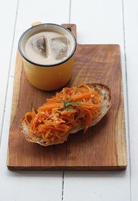 オレンジの朝ゴパン - Nasukon Pantry