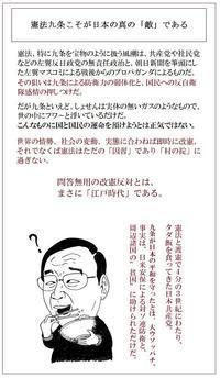 げに九条ほど怪しきものは無し東京カラス - 東京カラスの国会白昼夢