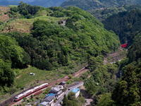 新緑の九度山俯瞰 - 鉄道撮影メモ用