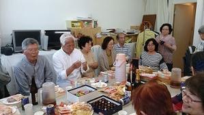 5月17日(金)例会と演奏会を祝う会 -