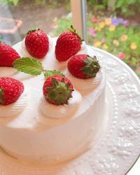 小さいいちごショートケーキ - 東京都調布市菊野台の手作りお菓子工房 アトリエタルトタタン