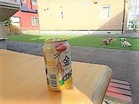 """夏日は""""お外でビール♪"""" - わんわん・パラダイス"""