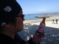 相模湖~熱海ツーリング5 【5/16 熱海のビーチで箱根ビール】 - RÖUTE・G DRIVE AFTER DEATH