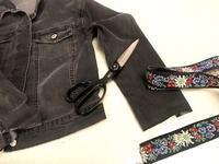 ジージャンの袖を可愛くお直しリメイク - Sew Easy New York