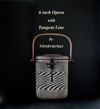6 inch Opera with Tangent Line - handvaerker ~365 days of Nantucket Basket~