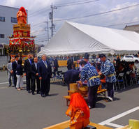 中町山車御披露目5月19日(日) - しんちゃんの七輪陶芸、12年の日常