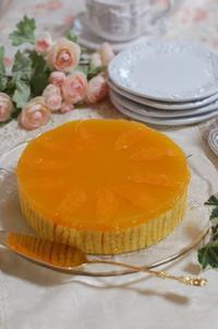 令和元年5月応用クラスレッスンのお菓子オレンジ・サンギーヌ - 恋するお菓子