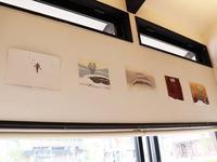 つむじカフェで海外交流の小品展 - 飯沢康輔ブログ Art&Whisky