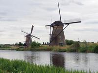 オランダ・ベルギー紀行(5) キンデルダイクの風車群(撮影:5月3日) - ご無沙汰写真館