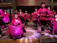 少数民族ヤオ族のショー - 桃的美しき日々(在、中国無錫)