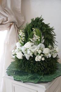5月のレッスンバック型ブーケ -  La Fleur