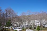 山の上の春景色 - ペンタで行こう。