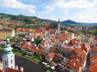 チェスキー・クルムロフ城世界一美しい町を眺める - 海外一人旅 addict