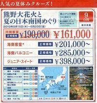 まだ間に合うようですよ!ダイヤモンド・プリンセス - LUZの熊野古道案内