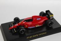 1/64 Kyosho Ferrari F1 2 F1-91 (early version) 1991 - 1/87 SCHUCO & 1/64 KYOSHO ミニカーコレクション byまさーる