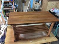 ローテーブルの試作02 - 木工家具製作所「玉造工房」ぶらぶら