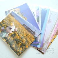 [ColleCtion plus...さん] ポストカード、着せ替え用のワンピースとオーバーオールを納品♪ - Smiling * Photo & Handmade 2 動物のあみぐるみ・レジンアクセサリー・風景写真のポストカード