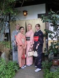 スウェーデンから来られました。 - 京都嵐山 着物レンタル「遊月」