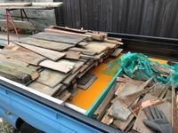 古民家再生  古材廃棄 壁下塗り - 海ぼうずのエコエゴ日記