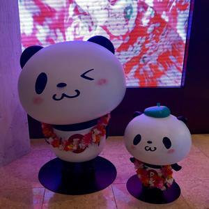 19年GWハワイ  その3☆楽天パンダに会いにラウンジへ - パンダのお気に入り
