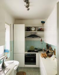 台所は持っていくもの - ローマの台所のまわり