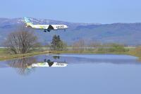 水の国へようこそ~旭川空港~ - 自由な空と雲と気まぐれと ~from 旭川空港~