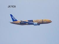 伊丹空港↔羽田に向かうJA743A スターウォーズジェット 2019/05/19 - 写真で楽しんでます! スマホ画像!