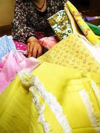 柄布への挑戦 - eri-quilt日記3